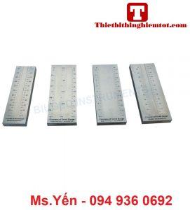 Thước đo độ mịn lớp phủ 1 thang BGD241 hãng Biuged
