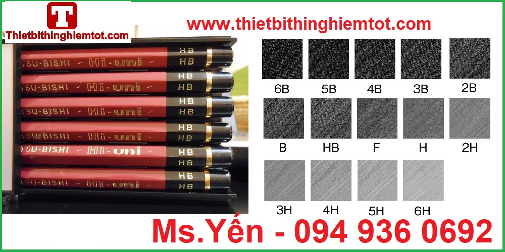 Bút chì đo độ cứng màng sơn Mitsubishi