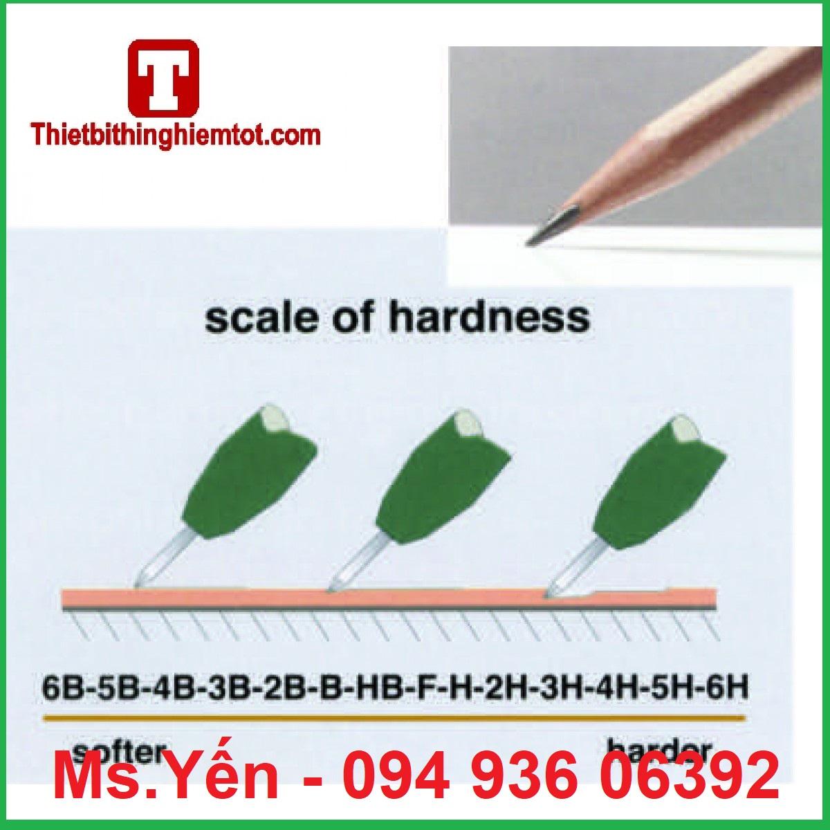Hướng dẫn chọn bút chì đo độ cứng màng sơn