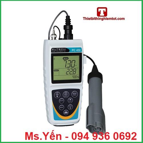 Máy đo đa chỉ tiêu PC450  Eutech