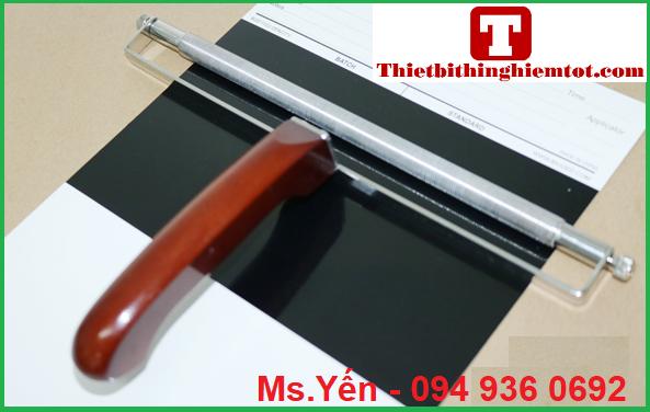 Thước kéo màng sơn dạng tròn hãng Biuged Trung Quốc dạng có tay cầm