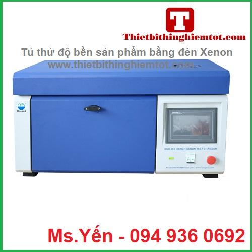 Tủ thử độ bền sản phẩm bằng đèn Xenon hãng Biuged BGD865
