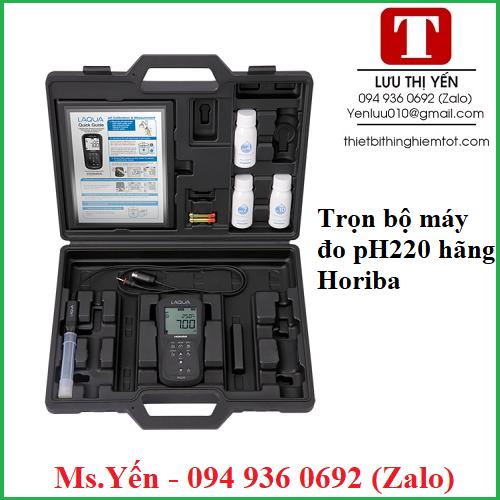 Trọn bộ máy đo pH220 hãng Horiba