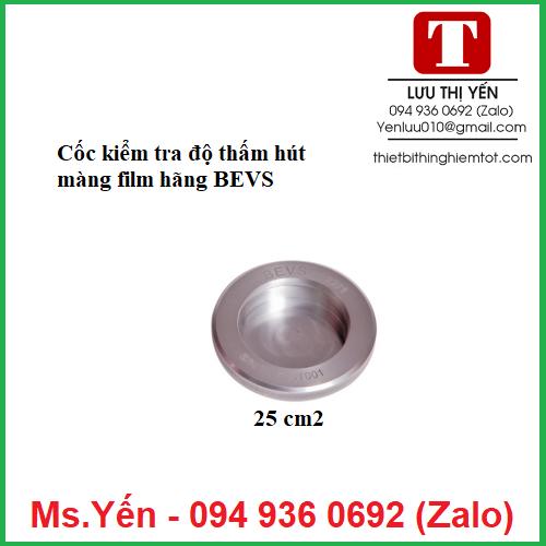 Cốc đo độ thấm hút màng film hãng BEVS1122