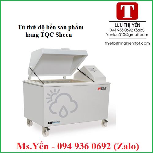 Tủ thử độ bền sản phẩm hãng TQC Sheen