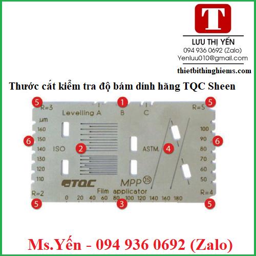 Thước cắt kiểm tra độ bám dính lớp phủ hãng TQC SHeen