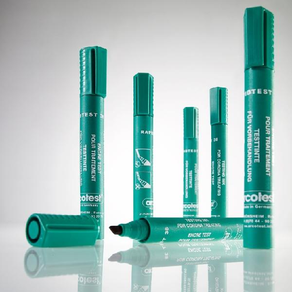 Bút thử sức căng bề mặt test nhanh giá trị 38 màu mực xanh lá