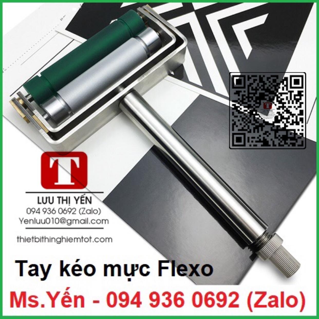 Hướng dẫn sử dụng tay kéo mực Flexo