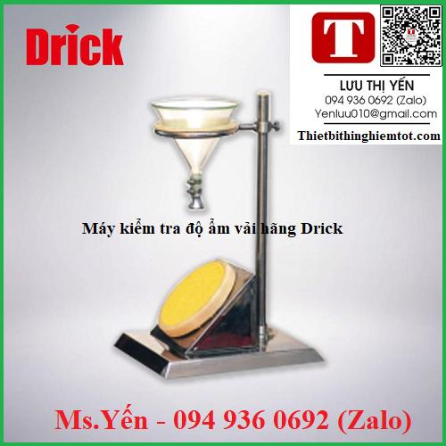 Máy kiểm tra độ ẩm vải DRK308A hãng Drick