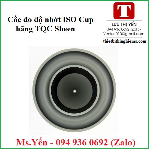 Cốc đo độ nhớt ISO Cup hãng TQC Sheen
