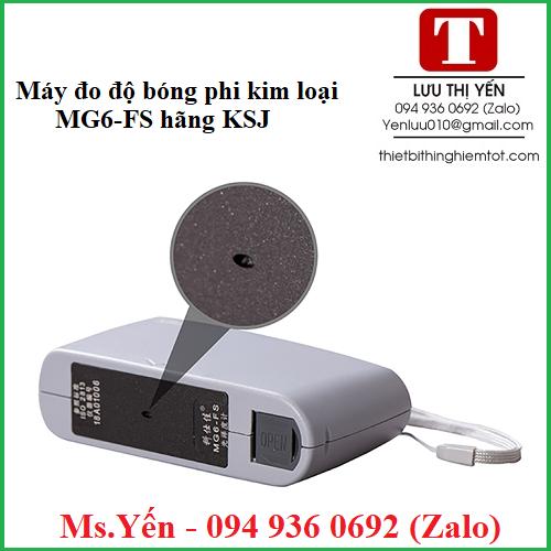 Máy đo độ bóng phi kim loại MG6-FS hãng KSJ Trung Quốc