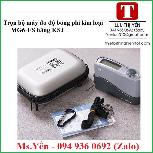 Trọn bộ máy đo độ bóng phi kim loại MG6-FS hãng KSJ