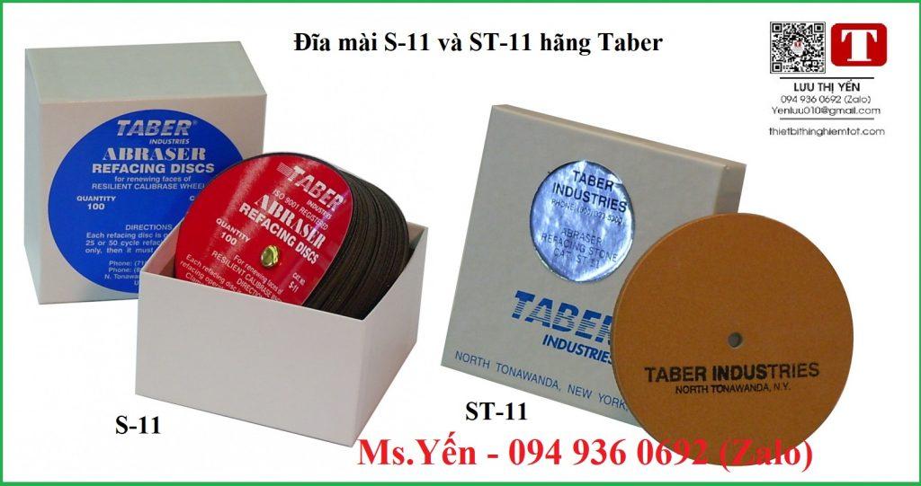 Đĩa mài S-11 và ST-11 hãng Taber