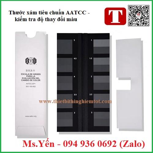 Thẻ xám tiêu chuẩn AATCC kiểm tra sự thay đổi màu