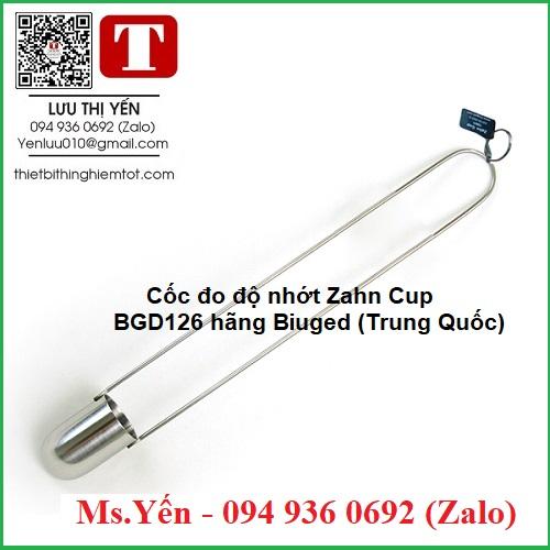 Cốc đo độ nhớt Zahn Cup BGD126 hãng Biuged