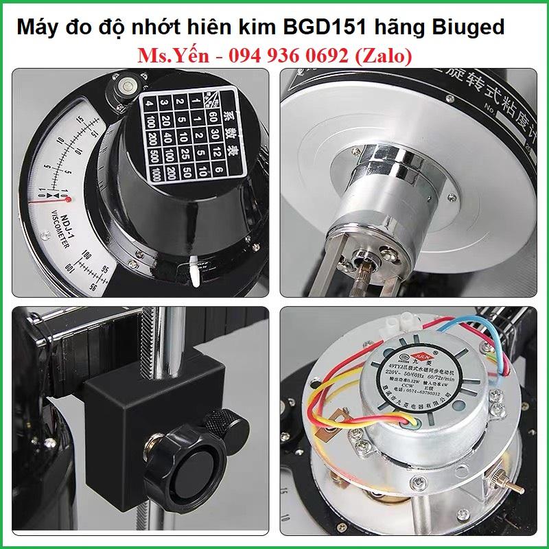 Máy đo độ nhớt hiện kim hãng Biuged