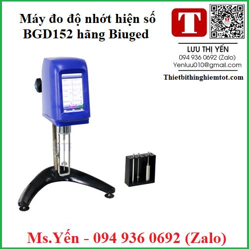Máy đo độ nhớt hiện số BGD152 hãng Biuged