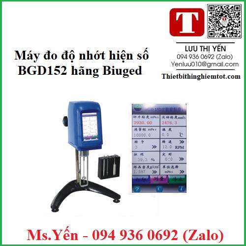 Máy kiểm tra độ nhớt BGD152 hãng Biuged
